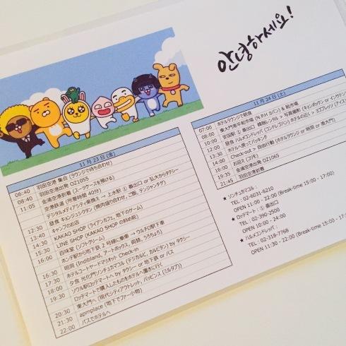 小学生連れソウル その1  小学生連れ予定は難しい・・・・_f0054260_17052530.jpg