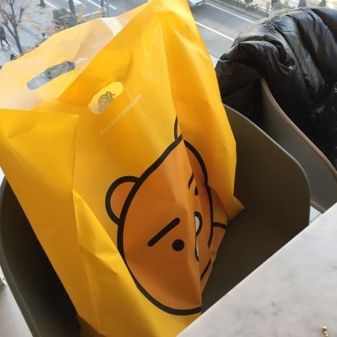 小学生連れソウル 3 カカオフレンズでお買い物&ライアンカフェ_f0054260_22341658.jpg
