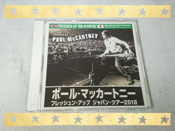 PAUL McCARTNEY / FRESHEN UP JAPAN TOUR 2018 TOKYO DOME 2nd_b0042308_10245865.jpg