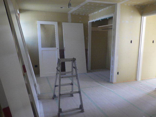 岩泉の家 仕上工事進行中。_f0105112_04284384.jpg