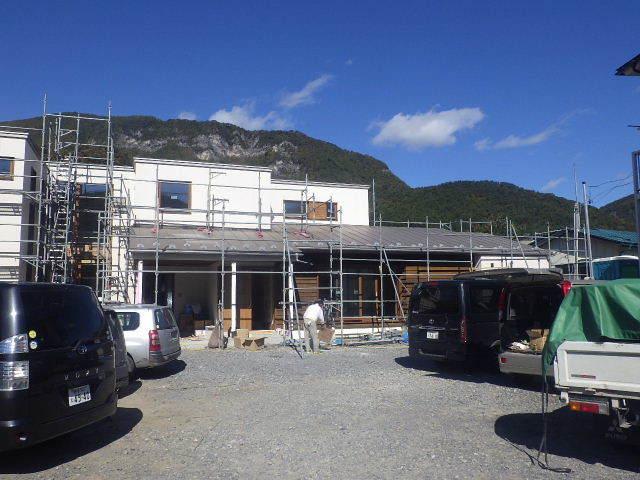 岩泉の家 仕上工事進行中。_f0105112_04284396.jpg
