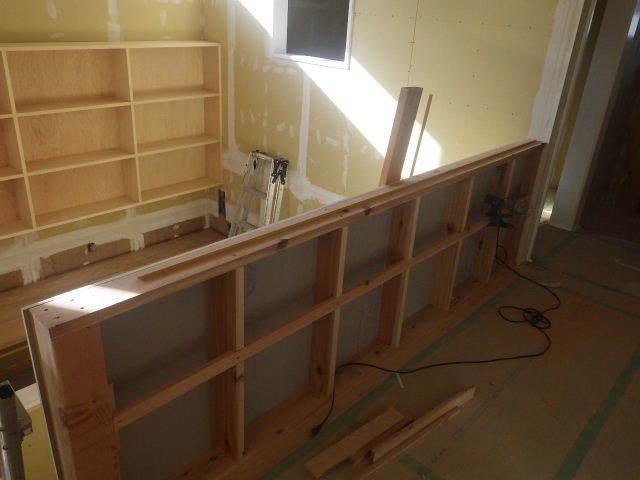岩泉の家 仕上工事進行中。_f0105112_04321985.jpg
