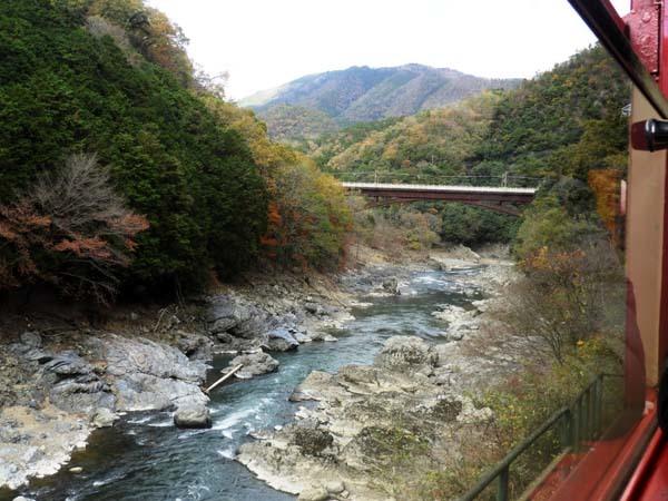 トロッコ列車で紅葉を楽しんだ_e0048413_23004108.jpg