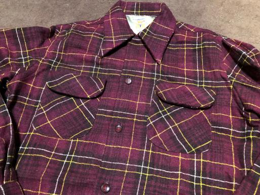 アメリカ仕入れ情報#4 50s Penny's towncraft wool shirts!_c0144020_22421955.jpg