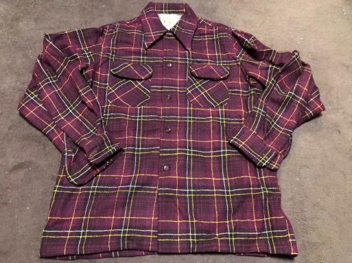 アメリカ仕入れ情報#4 50s Penny's towncraft wool shirts!_c0144020_22430350.jpg