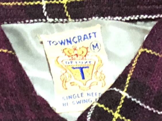 アメリカ仕入れ情報#4 50s Penny's towncraft wool shirts!_c0144020_22431512.jpg
