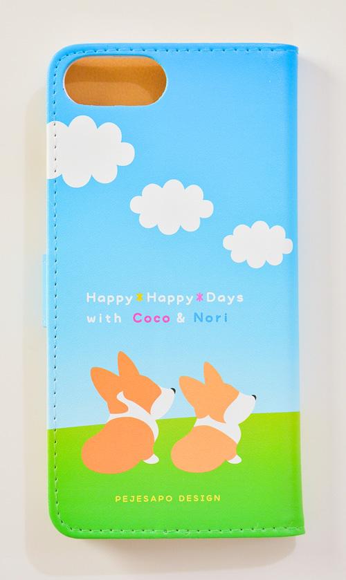 ココちゃん・のりくん 手帳型スマホケース_d0102523_13474336.jpg