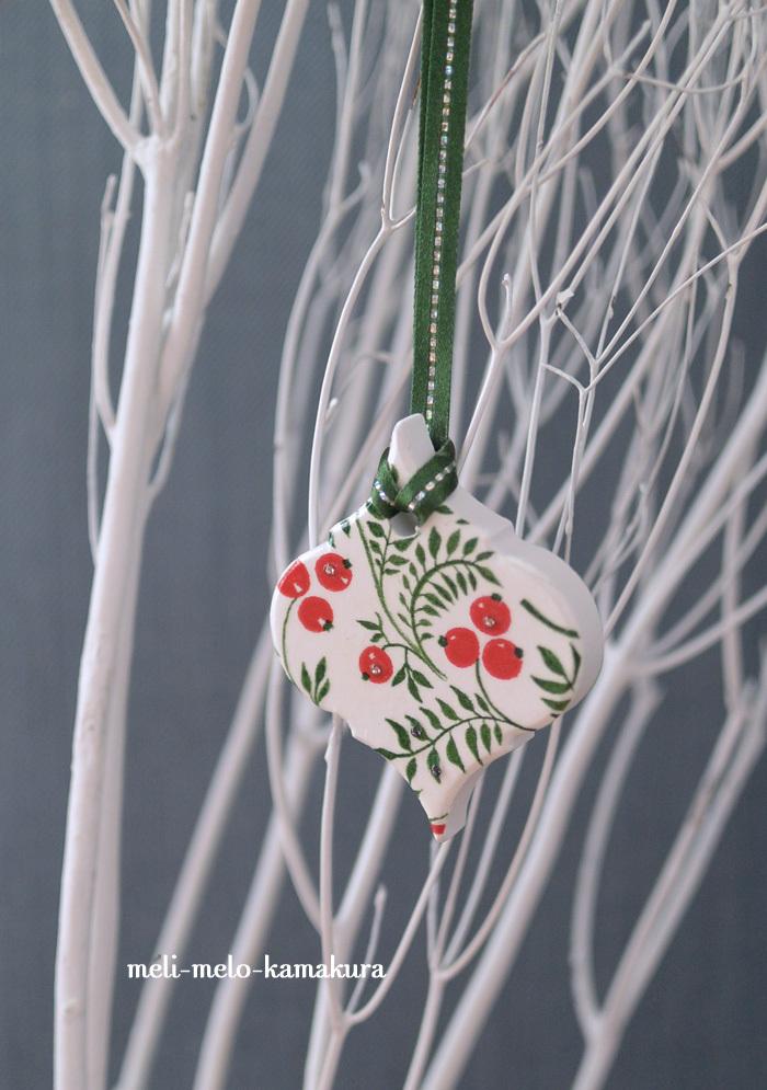 ◆【レッスンレポート】クリスマス気分が盛り上がる♪アロマストーンのオーナメント_f0251032_16493213.jpg