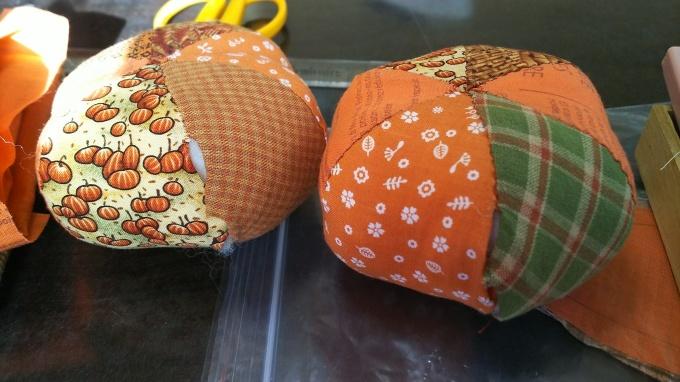 生徒さんとかぼちゃ作り♪_f0374160_22170992.jpg