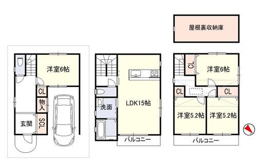 平成21年建築、築浅のお家、賃貸募集開始!!_e0251265_17040767.jpg