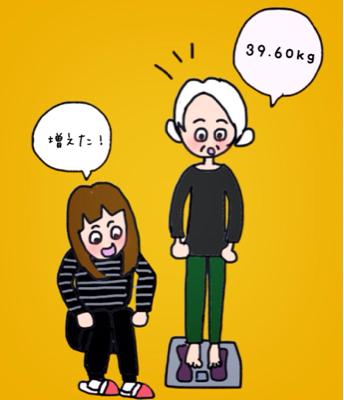 太れてうれしい人もいる(笑)_b0392383_15114963.jpg