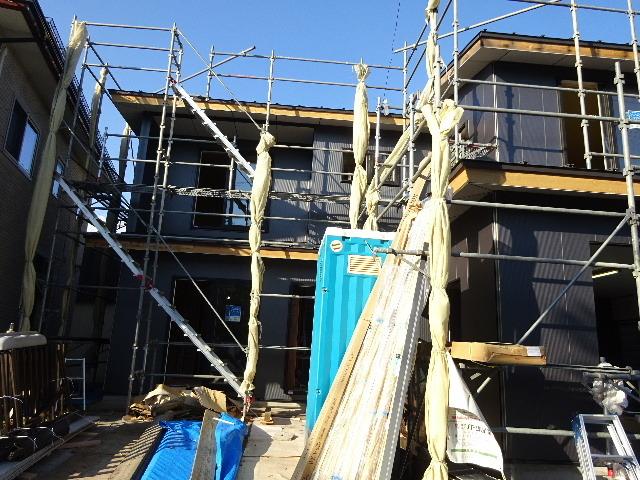 盛岡市乙部 フルリフォームの現場 大工工事進行中。_f0105112_04322301.jpg