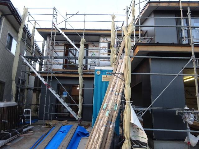 盛岡市乙部 フルリフォームの現場 大工工事進行中。_f0105112_04322320.jpg