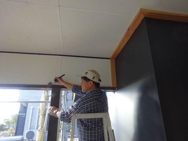 盛岡市乙部 フルリフォームの現場 大工工事進行中。_f0105112_04375543.jpg
