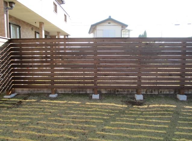 栃木県足利市外構(オリジナルフェンス)施工!_e0361918_16342709.jpg