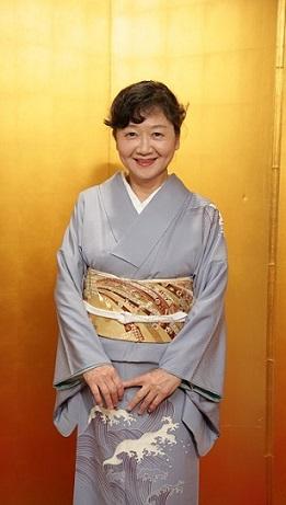 10周年・野田淳子さん・波頭文様の着物・熨斗の刺繍帯_f0181251_17135978.jpg