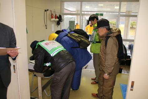 休屋・宇樽部地区の自主防災組織らが避難訓練を実施しました_f0237658_11510584.jpg