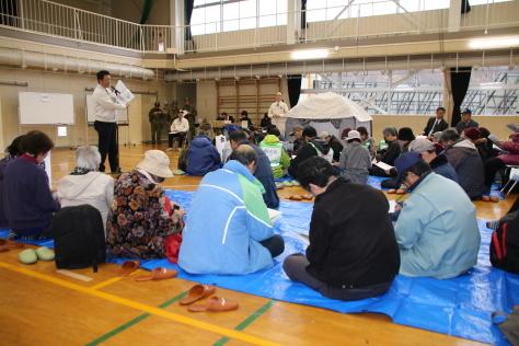 休屋・宇樽部地区の自主防災組織らが避難訓練を実施しました_f0237658_11513104.jpg