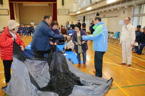 休屋・宇樽部地区の自主防災組織らが避難訓練を実施しました_f0237658_11524635.jpg