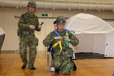 休屋・宇樽部地区の自主防災組織らが避難訓練を実施しました_f0237658_11533524.jpg