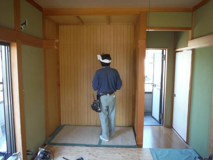 和室リフォーム ~ 二部屋目のクローゼット工事_d0165368_05241259.jpg