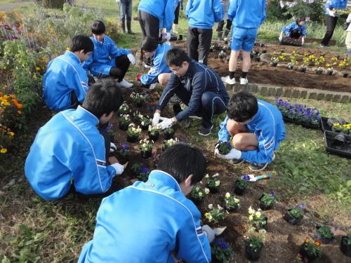 城西中学校の皆さんが参加され市民活動体験会が行われました_d0257693_09524648.jpg