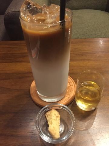 喫茶 1er ぷるみえ  (きのこ入りジェノバライスにトマトクリームソース 胡桃を散らして)_e0115904_12393032.jpeg