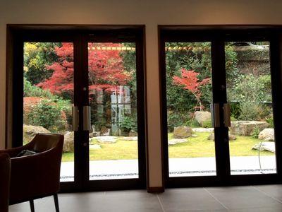 紅葉を見ながらコーヒータイム_e0234016_16253937.jpg