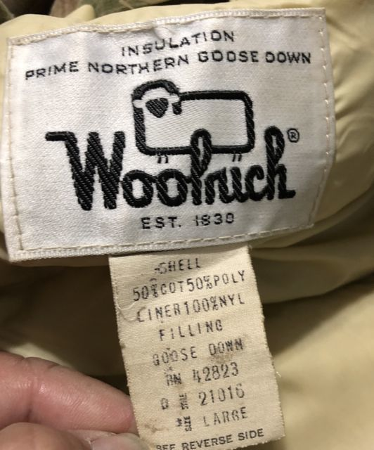 アメリカ仕入れ情報#8 70s&80s WOOLRICH ウールリッチ3連発!!アークテックパーカーなど_c0144020_14400094.jpg