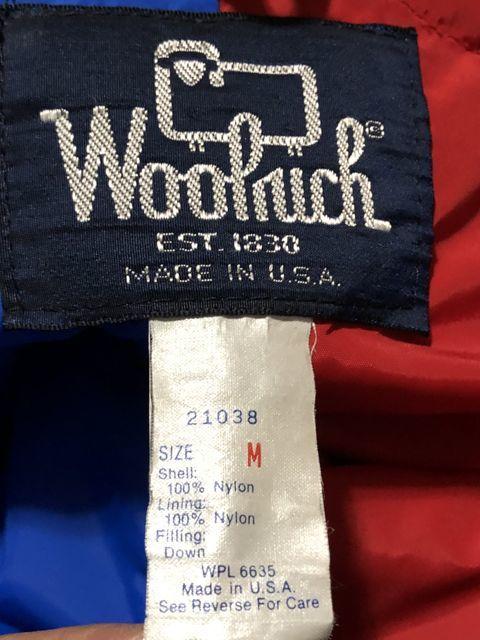 アメリカ仕入れ情報#8 70s&80s WOOLRICH ウールリッチ3連発!!アークテックパーカーなど_c0144020_14401416.jpg