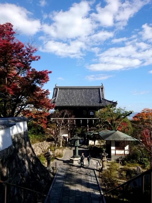幸せ京都旅 「善峯寺」 山寺を彩る美しき紅葉_c0362623_15242371.jpg
