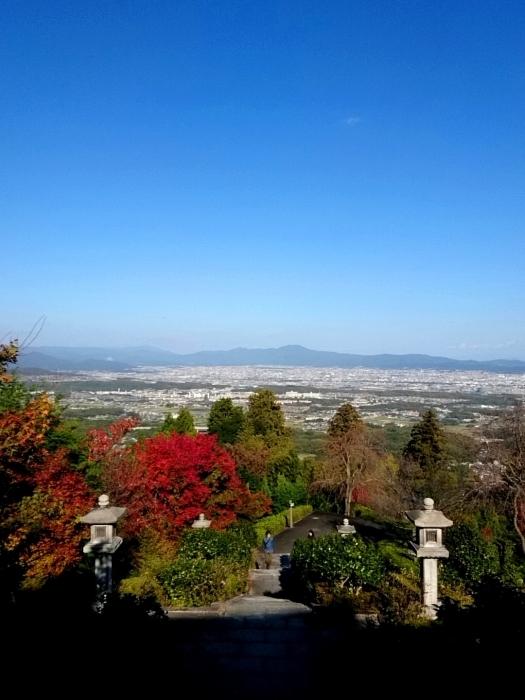 幸せ京都旅 「善峯寺」 山寺を彩る美しき紅葉_c0362623_15242558.jpg