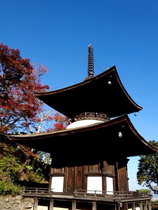 幸せ京都旅 「善峯寺」 山寺を彩る美しき紅葉_c0362623_15242608.jpg