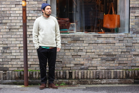 "「Jackman」FREEMAN別注 ""High-density Jersey Trousers\"" ご紹介_f0191324_08395936.jpg"