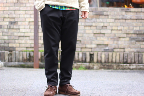 "「Jackman」FREEMAN別注 ""High-density Jersey Trousers\"" ご紹介_f0191324_08400715.jpg"