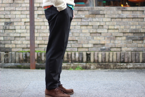 "「Jackman」FREEMAN別注 ""High-density Jersey Trousers\"" ご紹介_f0191324_08401418.jpg"