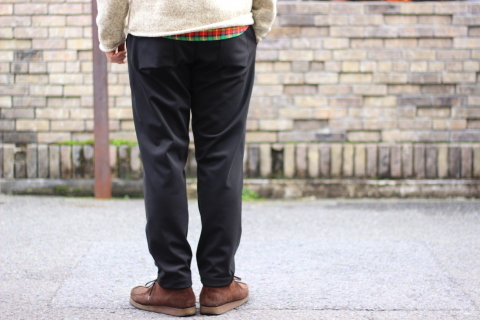 "「Jackman」FREEMAN別注 ""High-density Jersey Trousers\"" ご紹介_f0191324_08402192.jpg"