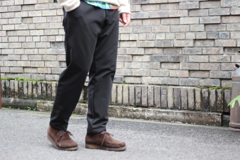 "「Jackman」FREEMAN別注 ""High-density Jersey Trousers\"" ご紹介_f0191324_08402970.jpg"