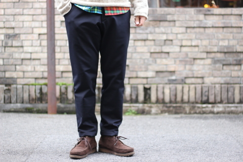 "「Jackman」FREEMAN別注 ""High-density Jersey Trousers\"" ご紹介_f0191324_08410316.jpg"