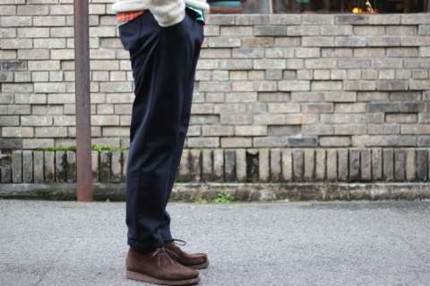 "「Jackman」FREEMAN別注 ""High-density Jersey Trousers\"" ご紹介_f0191324_08411128.jpg"