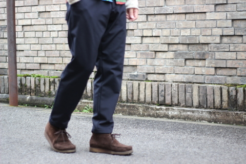 "「Jackman」FREEMAN別注 ""High-density Jersey Trousers\"" ご紹介_f0191324_08412484.jpg"