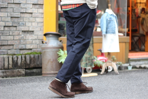 "「Jackman」FREEMAN別注 ""High-density Jersey Trousers\"" ご紹介_f0191324_08413142.jpg"