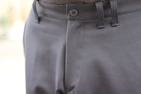 "「Jackman」FREEMAN別注 ""High-density Jersey Trousers\"" ご紹介_f0191324_08413795.jpg"