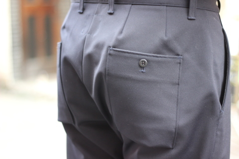 "「Jackman」FREEMAN別注 ""High-density Jersey Trousers\"" ご紹介_f0191324_08414448.jpg"