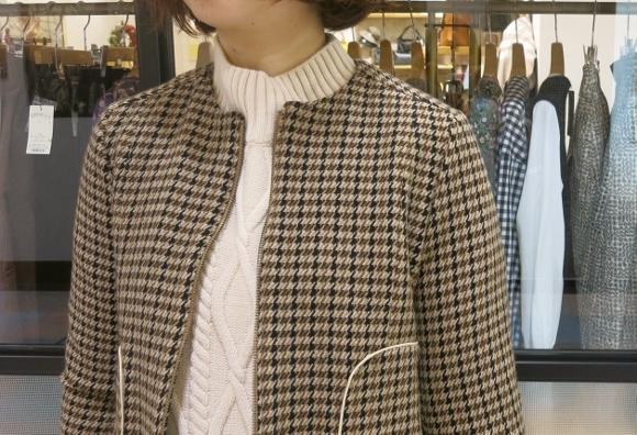 Porter des boutons の冬のコートです。_c0227633_12110308.jpg