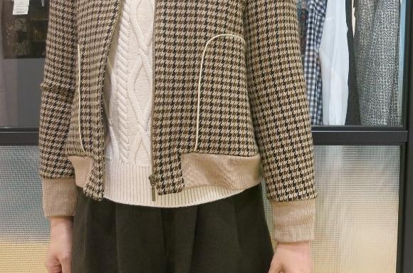 Porter des boutons の冬のコートです。_c0227633_12111839.jpg
