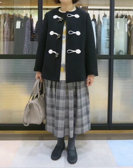 Porter des boutons の冬のコートです。_c0227633_12121614.jpg