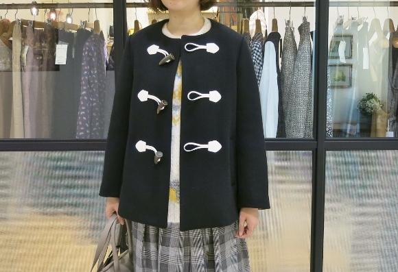Porter des boutons の冬のコートです。_c0227633_12123872.jpg