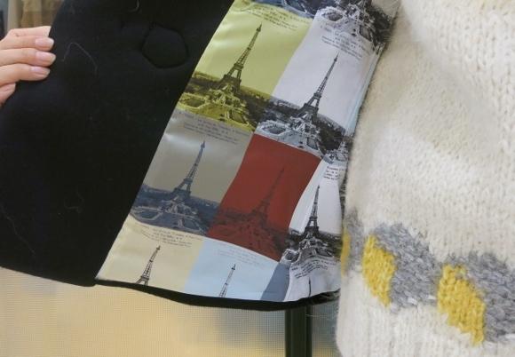 Porter des boutons の冬のコートです。_c0227633_12130802.jpg