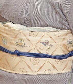 10周年・大切な形見の着物・記念のアメリカの帯・大連吟_f0181251_19111079.jpg